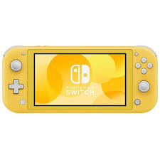 Switch Lite-Jaune
